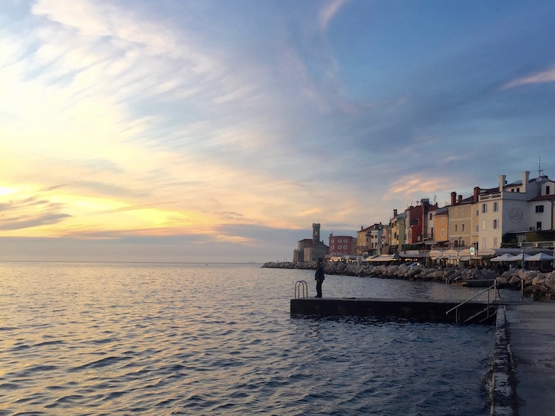 Piran sunset.