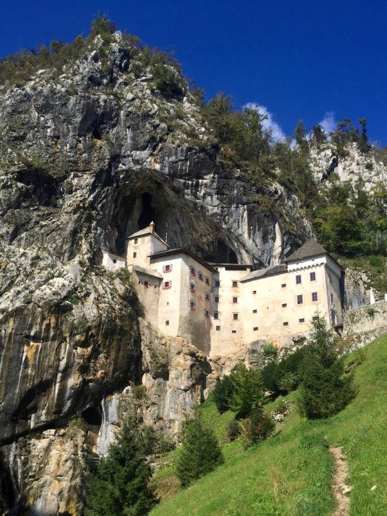Cave castle Slovenia