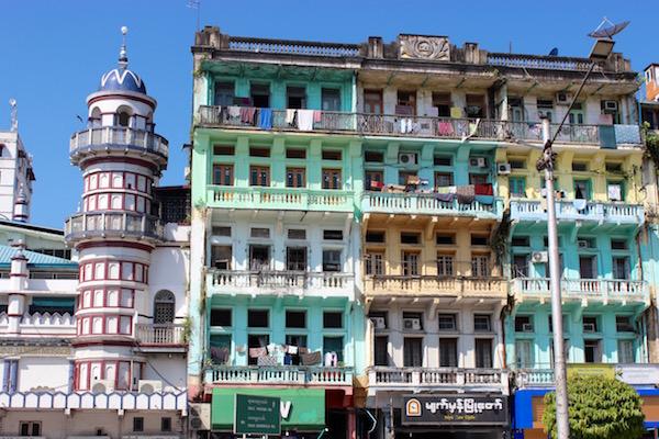 Yangon architecture
