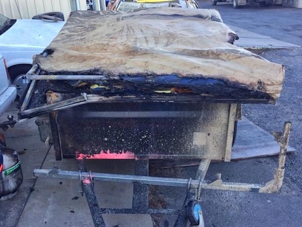stolen oztrail camper trailer