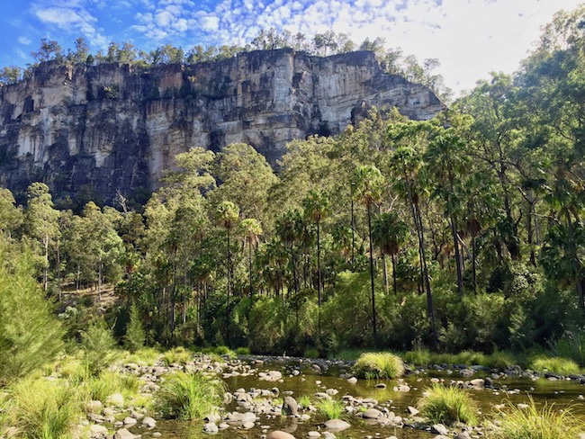 Beautiful gorge queensland