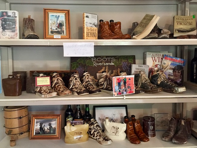Pottery boots winery
