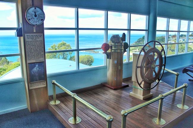 Ship's wheel whaling boat