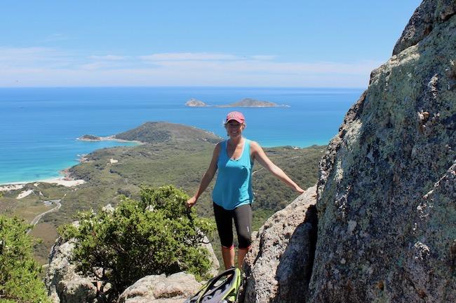 Hiking Mt Bishop