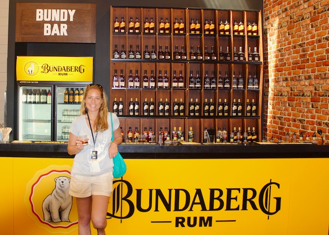 Bundaberg Rum bar