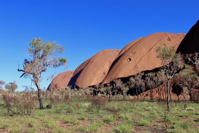 Uluru from the side