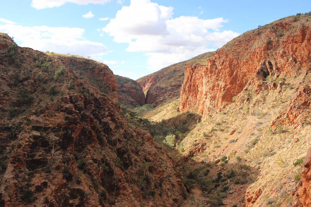 Lookout from Serpentine Gorge