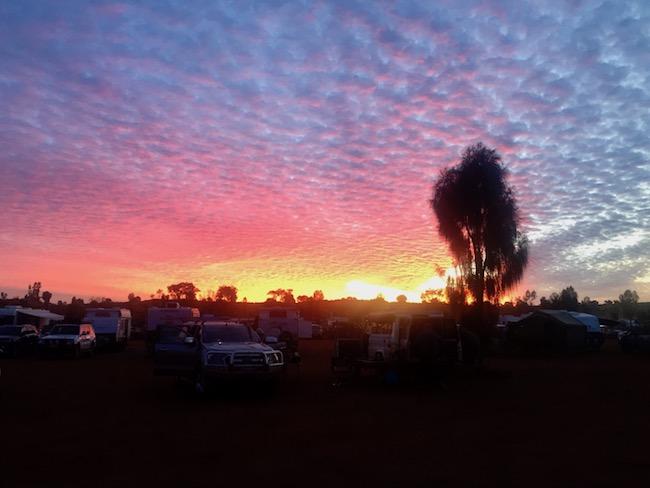 Uluru campground