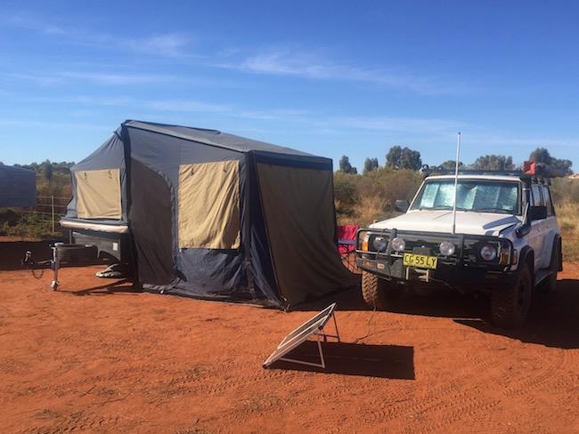 Camping uluru