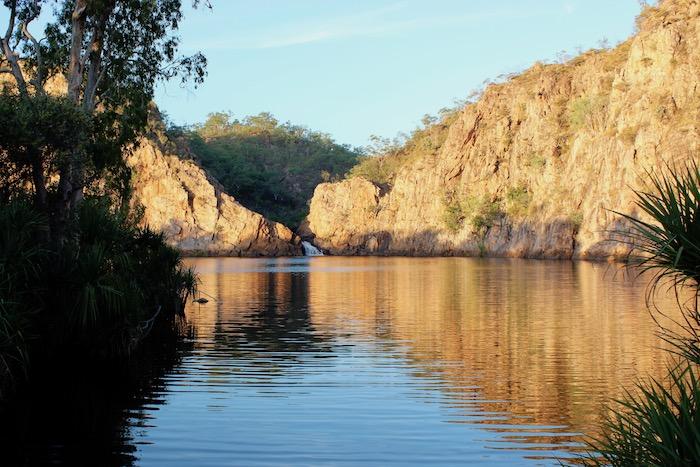 Edith Falls main plunge pool, NT Australia