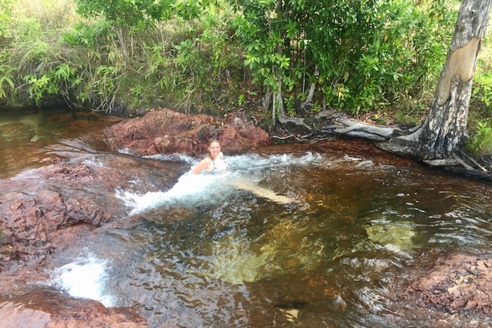 Natural spa at Buley Rockholes in Litchfield National Park