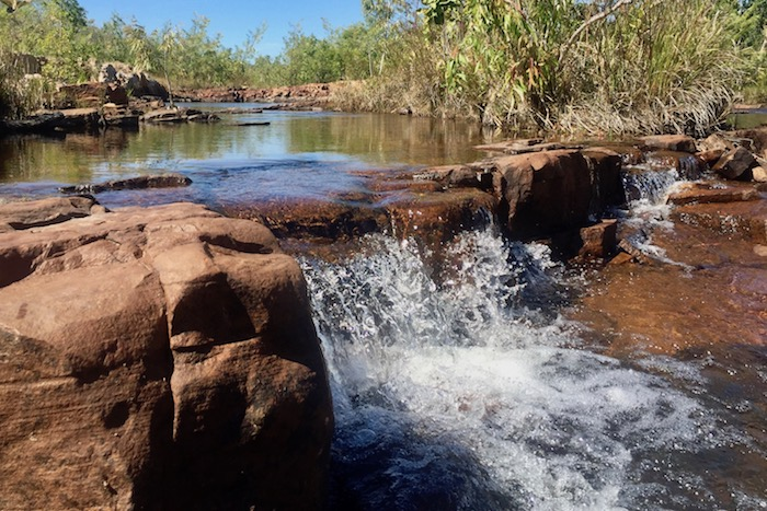 Sweetwater Pools at Edith Falls NT Australia