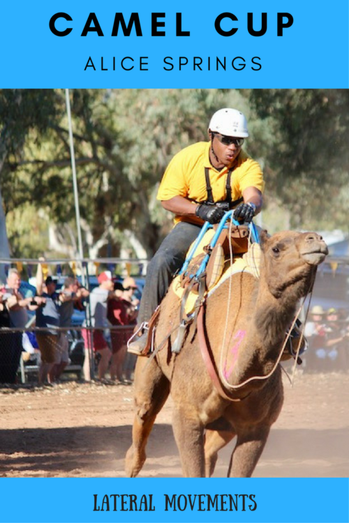 Alice Springs Camel Cup in Pictures: Lateral Movements