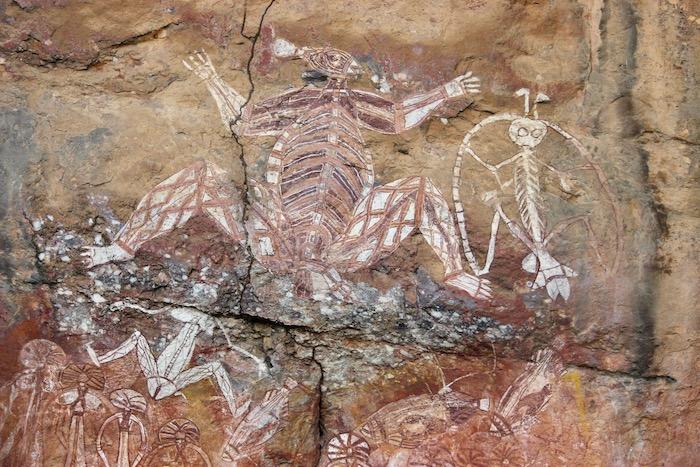 Aboriginal artwork depicting Namarrgon