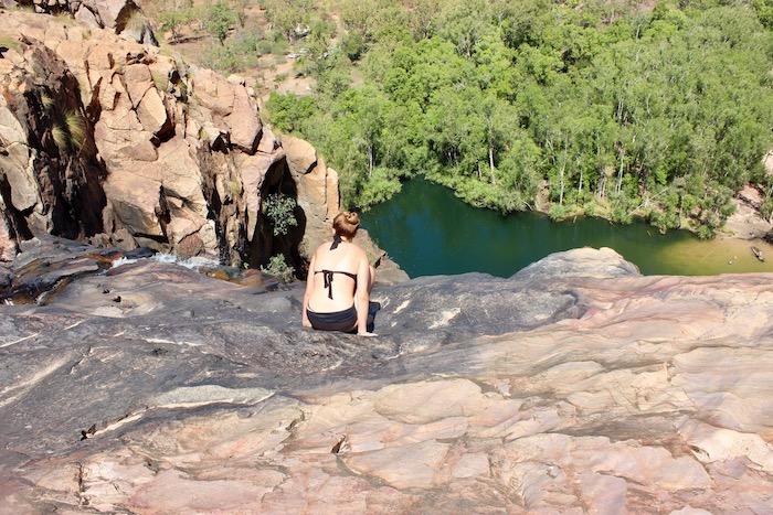 Overlooking Gunlom Falls