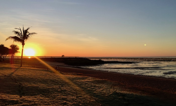 sunrise at Town Beach