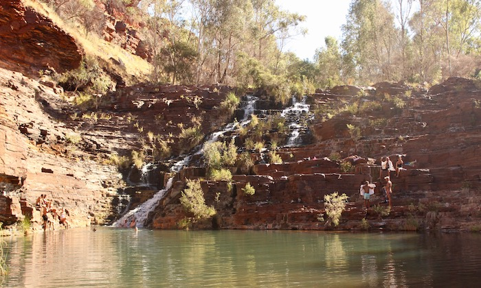 Karijini waterfalls