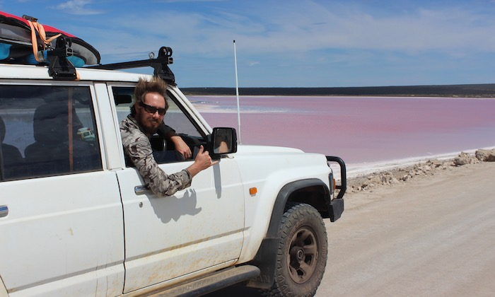 Pink Lake Penong SA