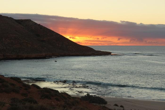 sunset scenery Western Australia